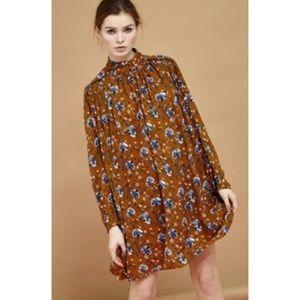 Sister Jane Short Swing Boho Floral Dress Large